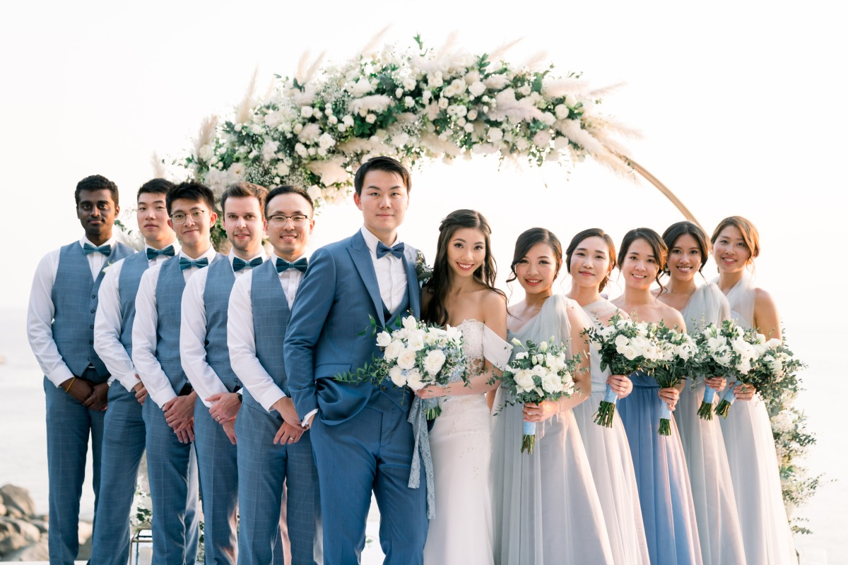 Over-The-Top Micro Wedding In Thailand That You Have To See To Believe