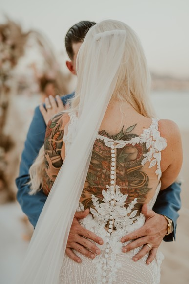 Sparks Fly At This Picture-Perfect Wedding In Cabo