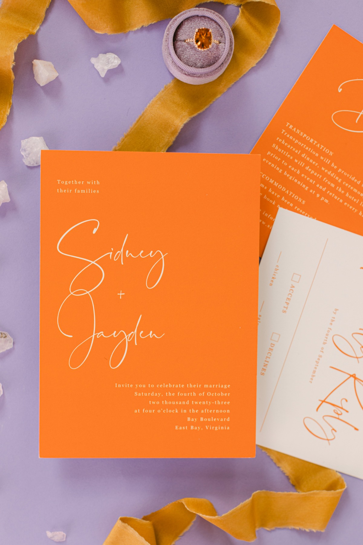 How To Add Bold Statements To Your Wedding Decor