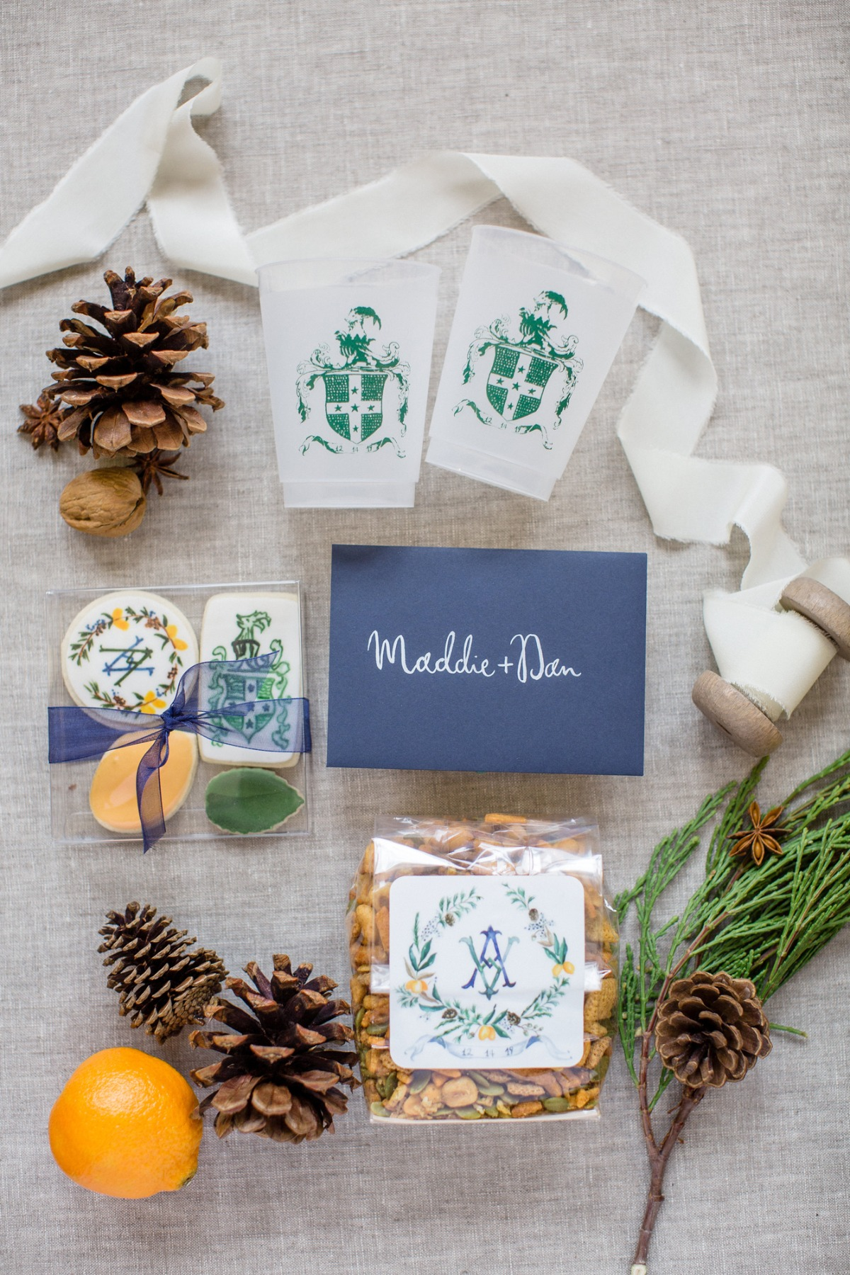 A White Christmas 1950s Holiday Themed Winter Wedding in Vermont