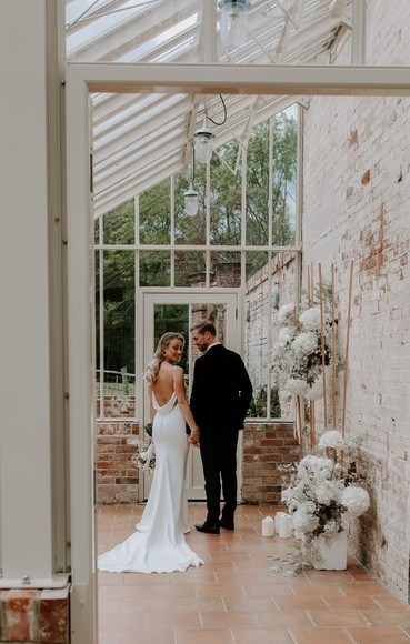 Candlelit and Sparkly Micro Wedding Ideas at Our Beautiful Glass House