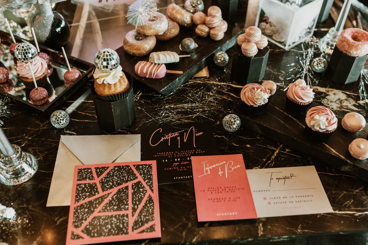 A Sweet Pink Fantasy Wedding Day in Spain