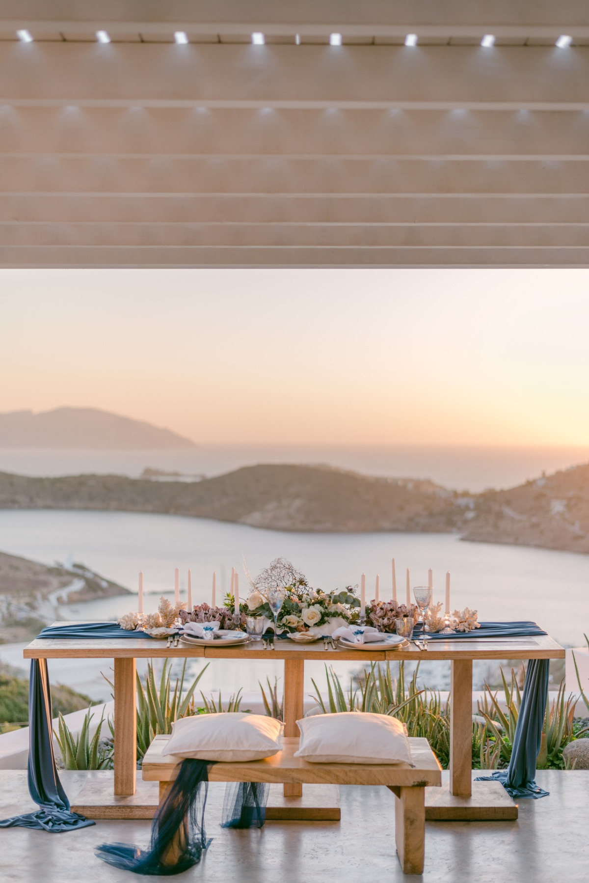 A Blueprint for Happiness Styled Shoot in Greece