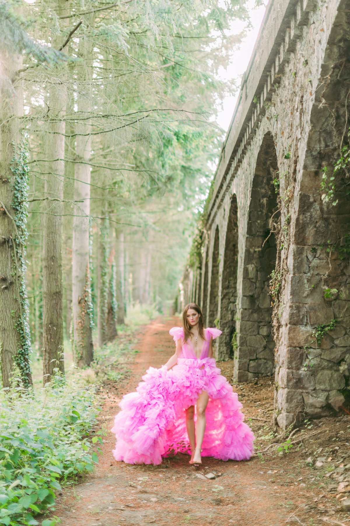 A French Castle Garden Party in Millenial Pink