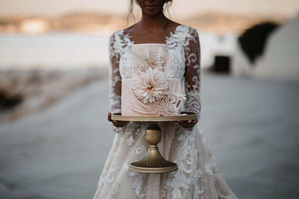 A Sultry Seaside Wedding In Croatia With A Hint of Boho Love