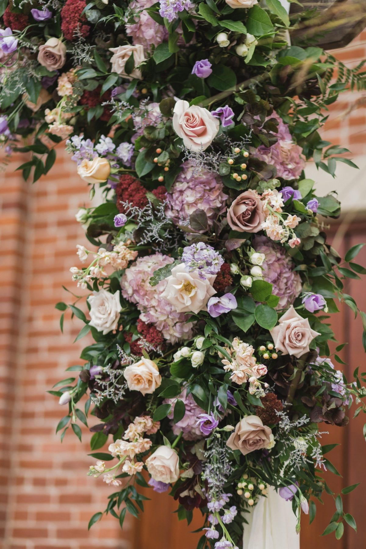 A Lilac-Filled Wedding Day Blooming With Lush Garden Inspiration