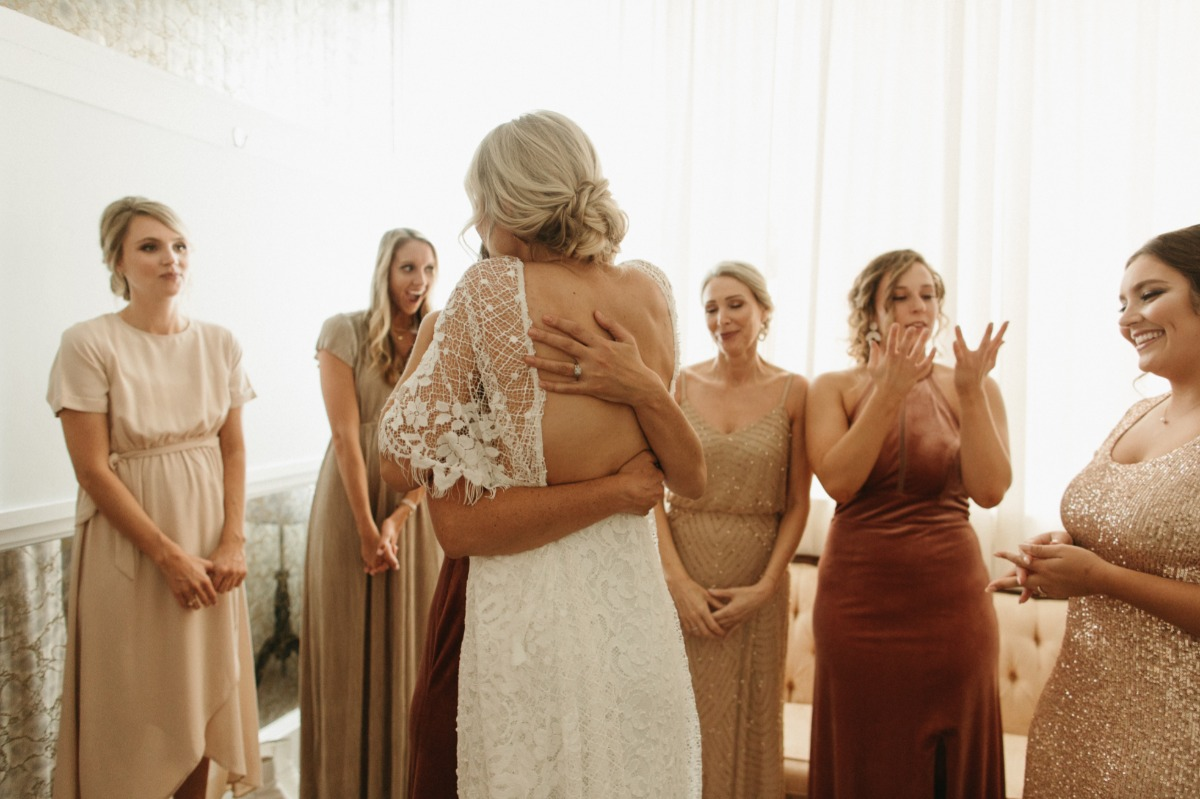 This Boho-Styled Warehouse Wedding In Jacksonville, Florida Ended With Doughnuts and Disco