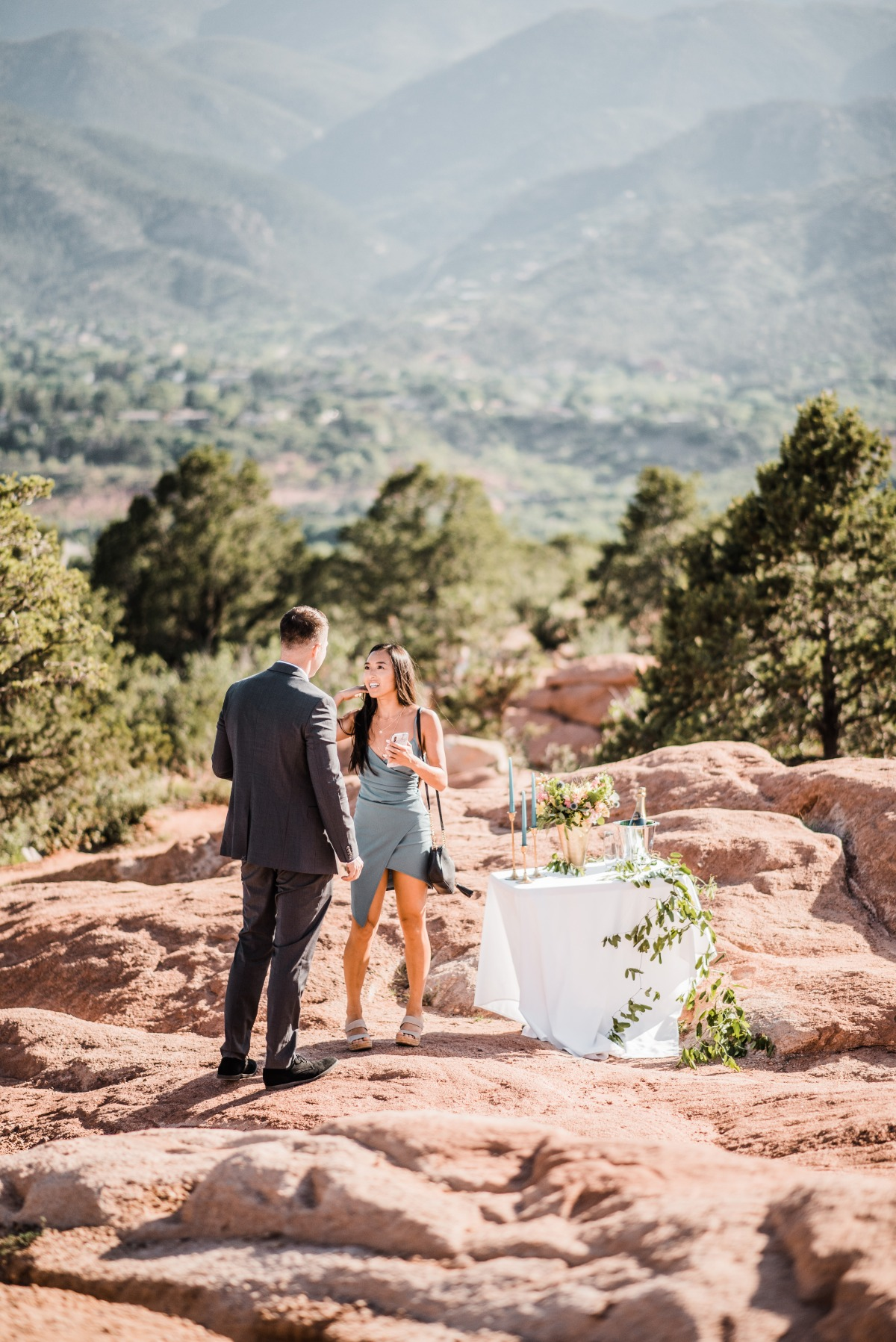 How to Have a Surprise Mountain Proposal in Colorado