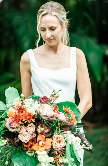 A Rainbow Wedding Preview In Kauai Is Exactly What This COVID-Planning Couple and Their Crew Needed