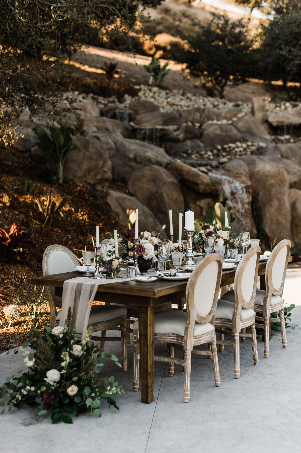 Secluded Fall Wedding at Lucious California Creek