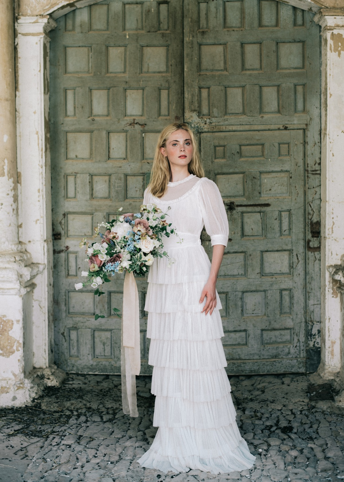A Classic And Timeless Editorial At The Marqueses de Viana Palace
