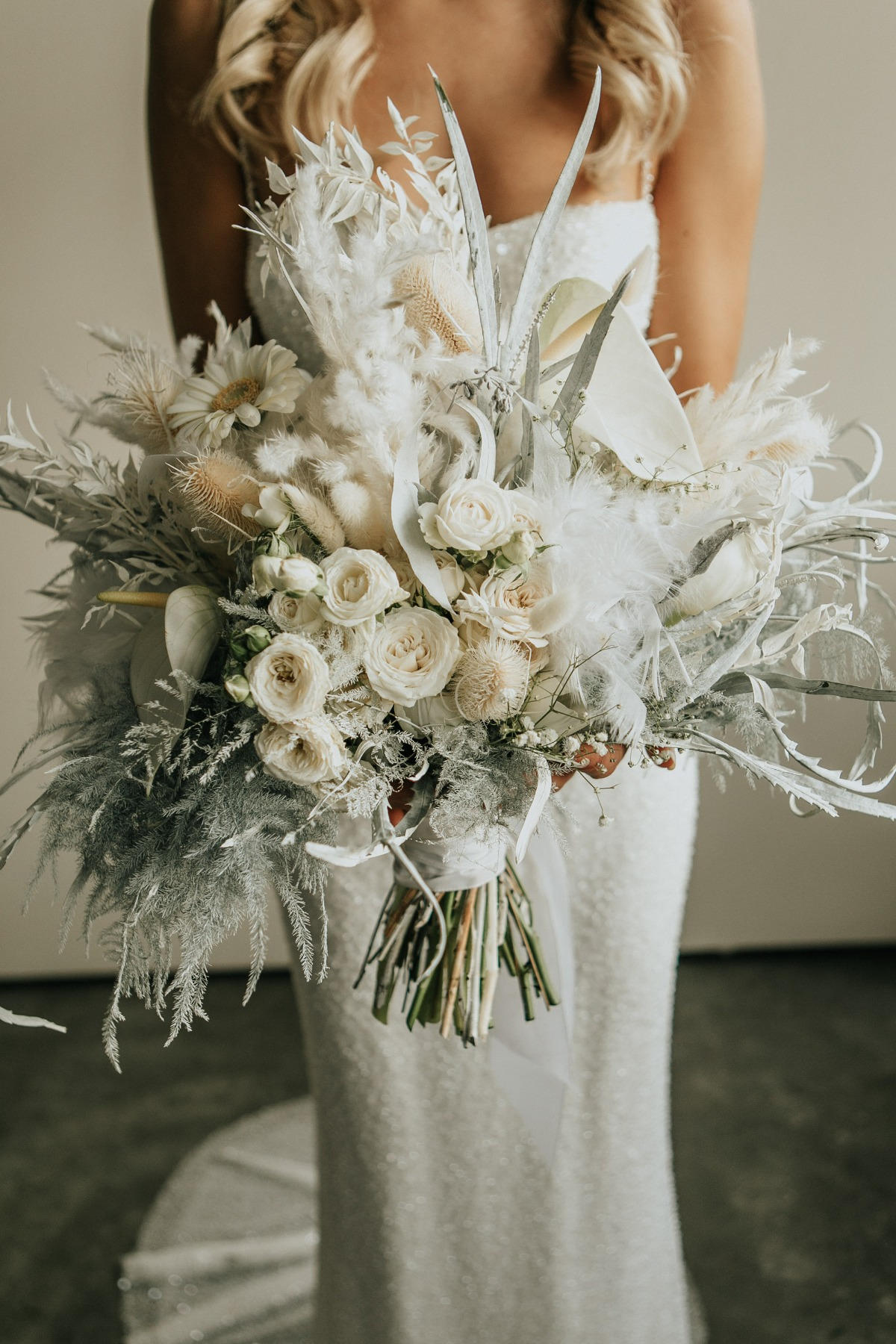 White Industrial Wedding Inspiration