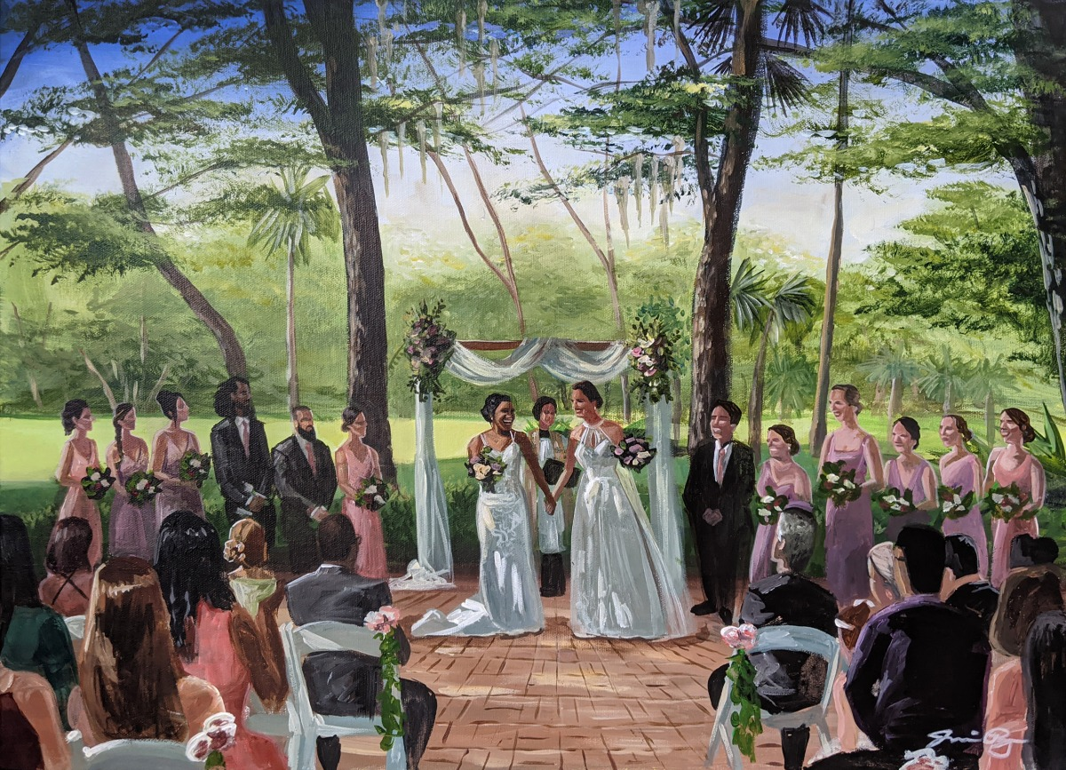 Why 2021 is the Best Time to Hire a Live Wedding Painter