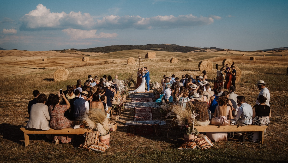 A Tuscan Summer Wedding Like You've Never Seen Before