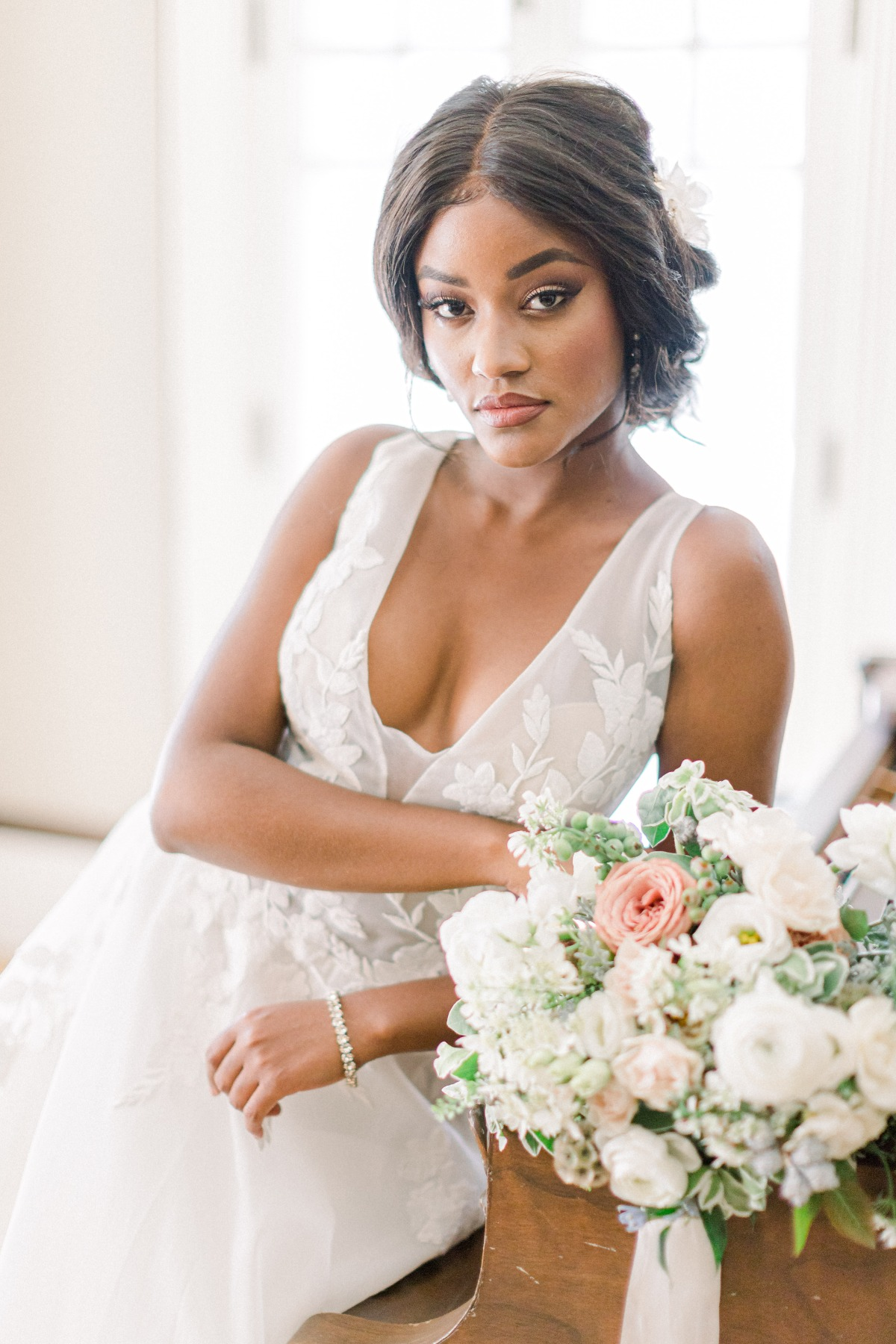 A Perfectly Timeless Styled Shoot At An Antique Denver Mansion