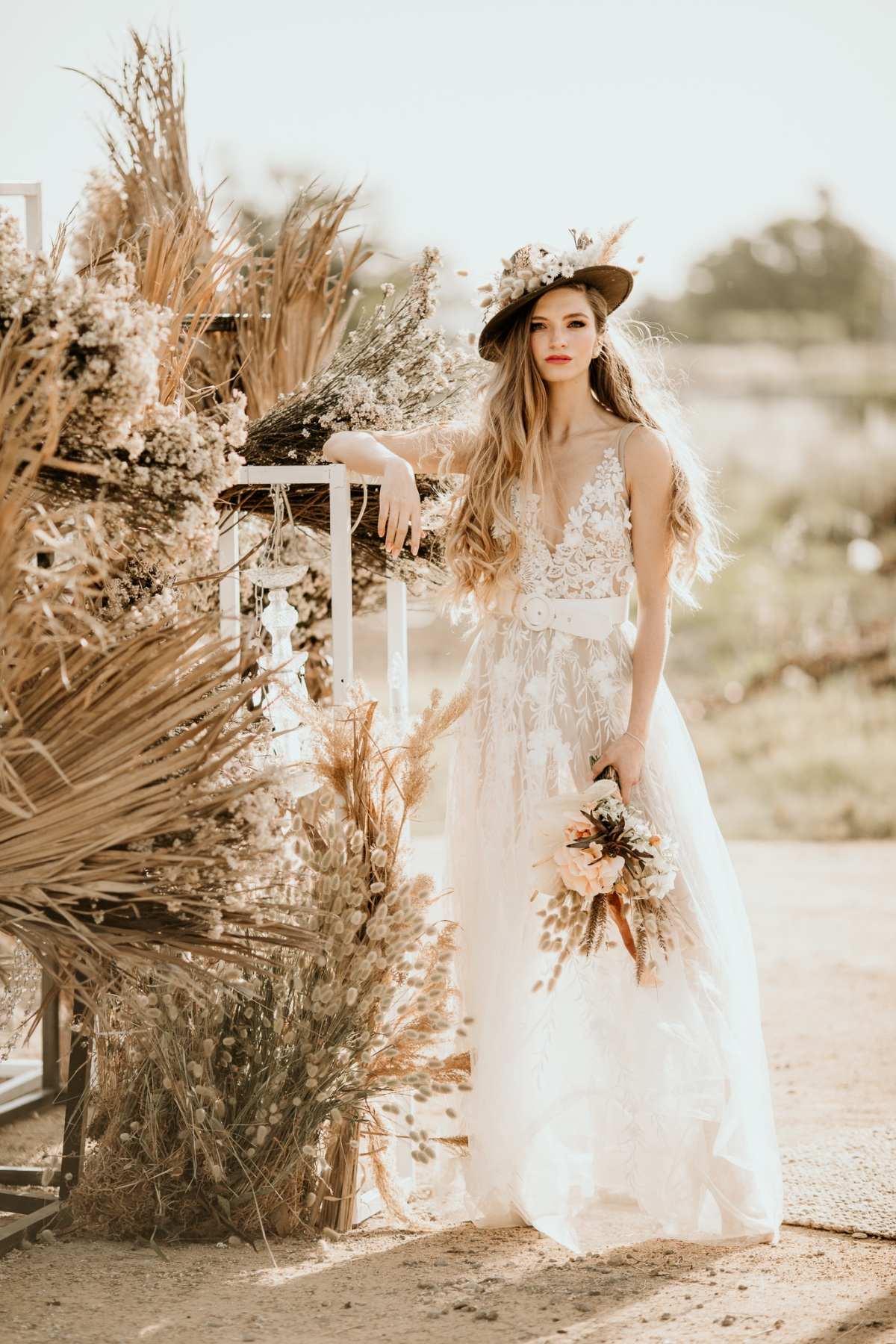 Modern Meets Boho In This South African Lakeside Styled Shoot