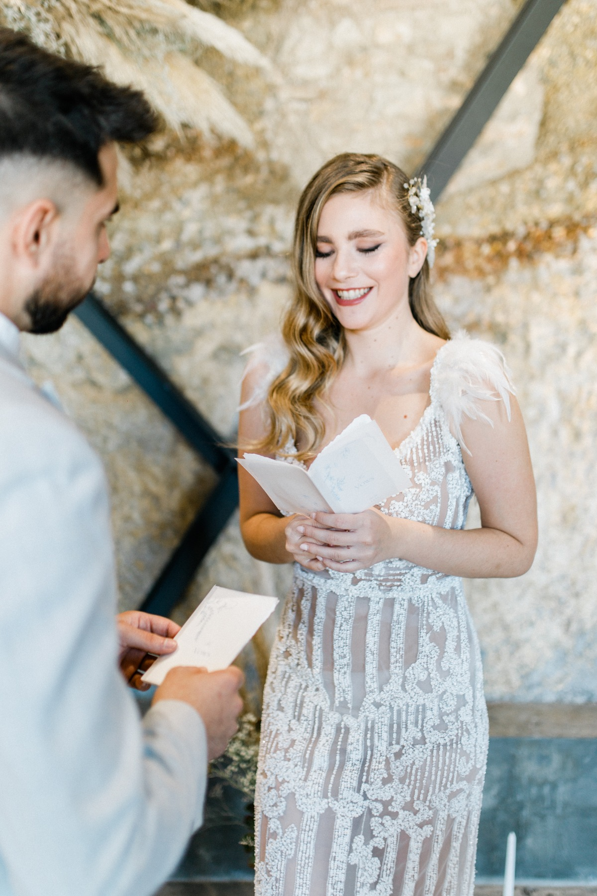 INDUSTRIAL AGE ROMANTIC MICROWEDDING IN ATHENS GREECE