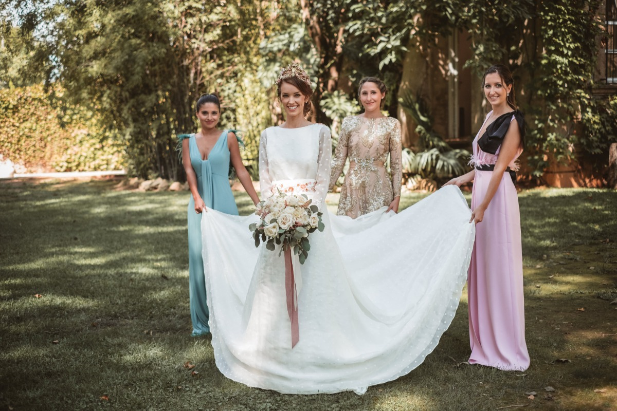 A Fairytale Styled Shoot In Spain With A Rosy Glow