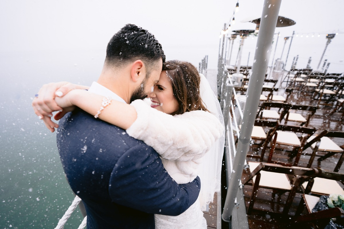 Let It Snow–A Magical Winter Wedding on Lake Tahoe