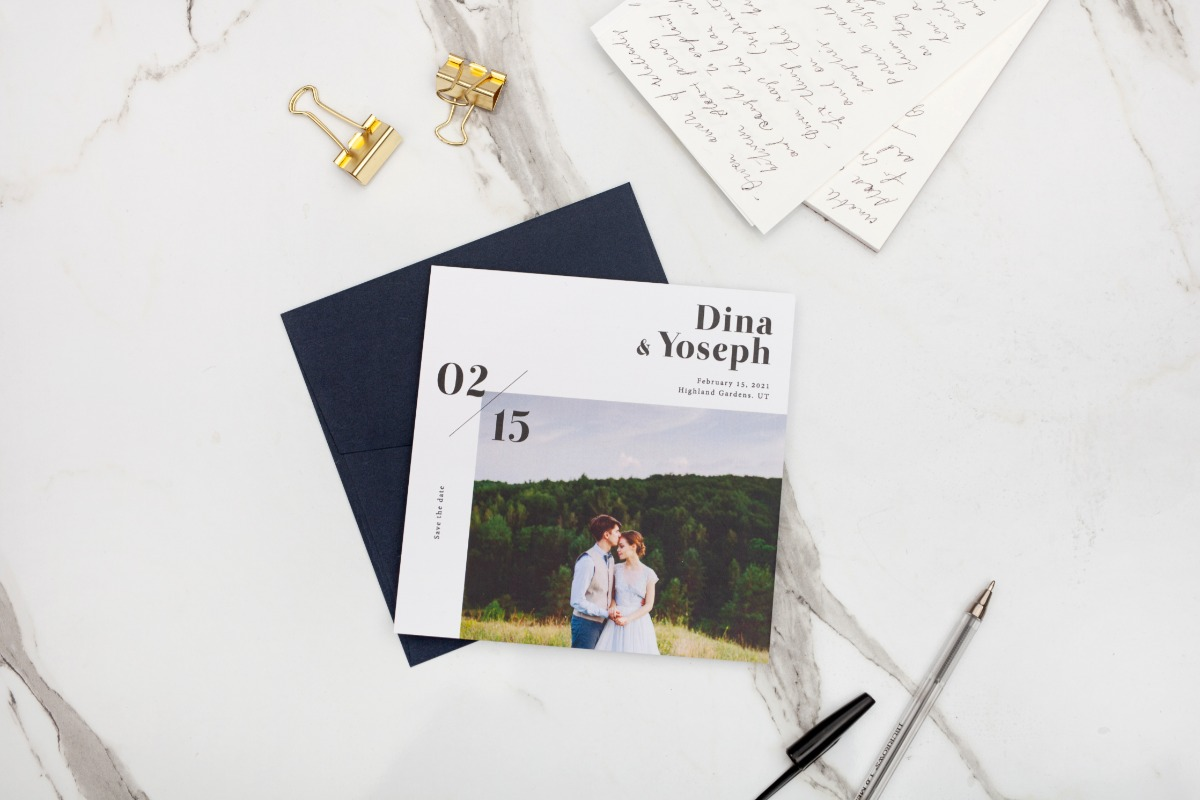 What to choose when your picking your save the date cards