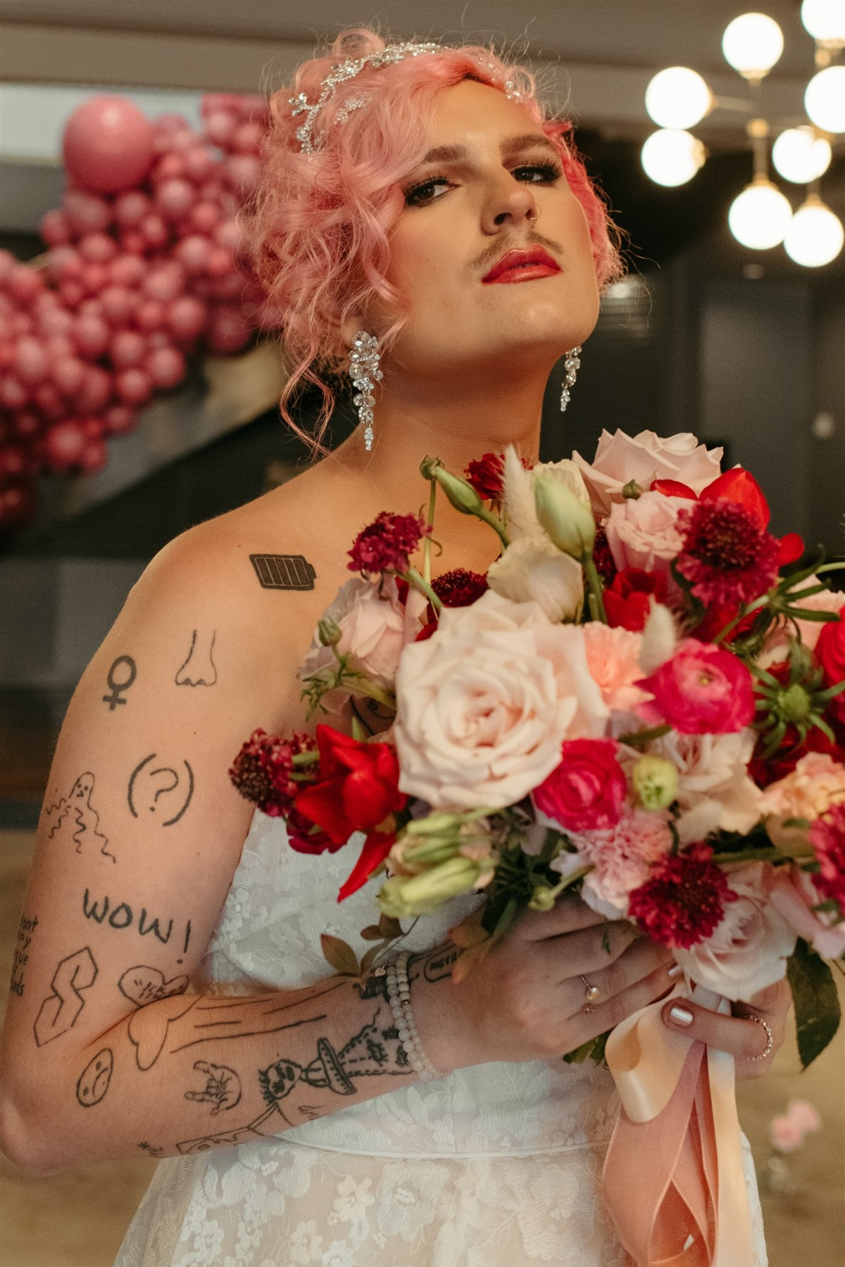 A Self-Love Editorial For A Valentines Day Queen