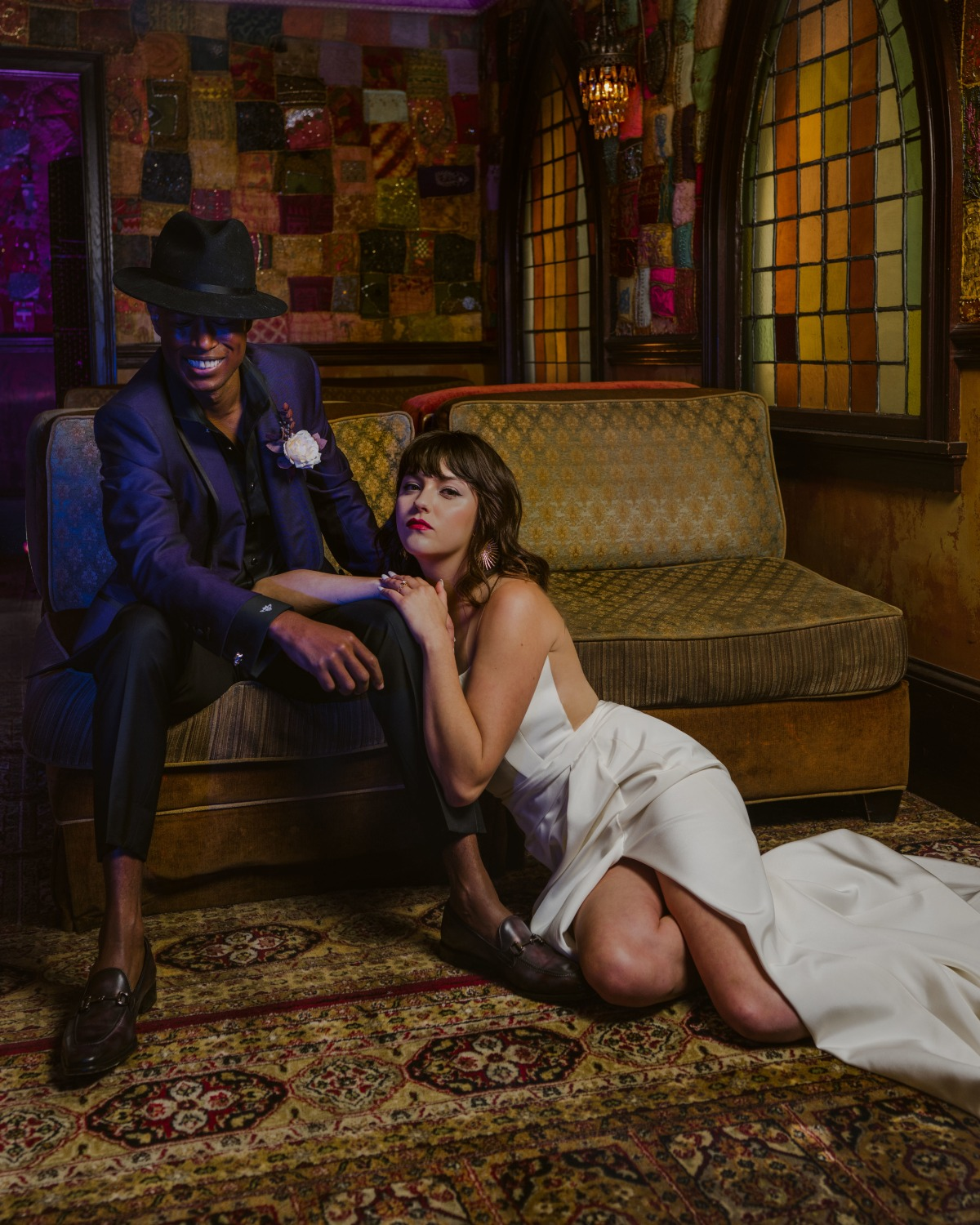 Fashion and Music Take Center Stage In This Rock and Roll Inspired Shoot