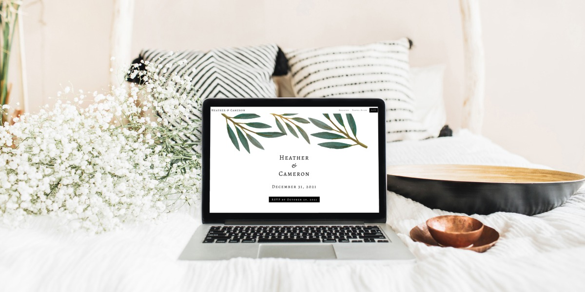5 Reasons Why You Need a Wedding Website in 2021