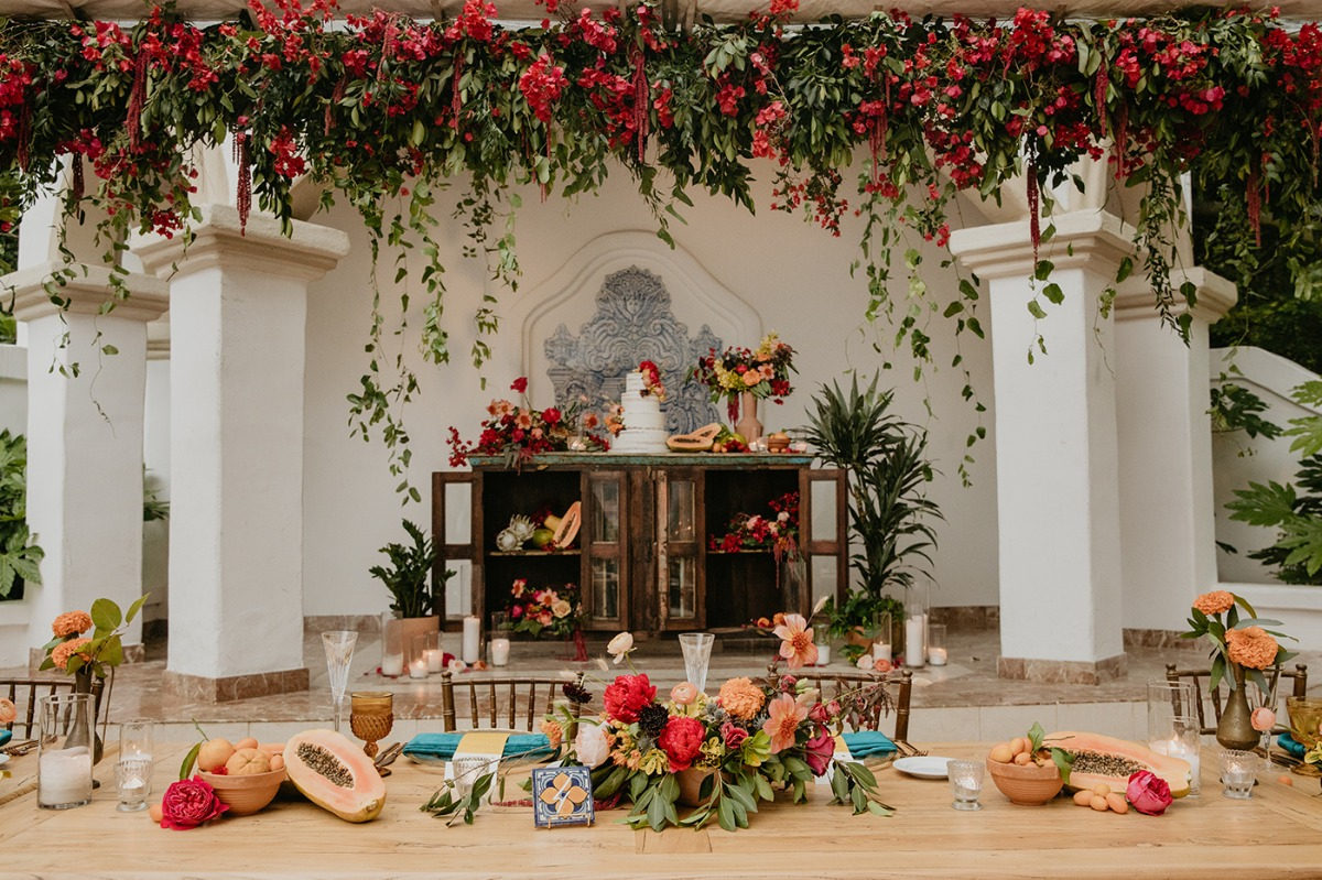 Bright And Colorful Wedding With A Delicious Nod To The Couple's Hispanic Heritage