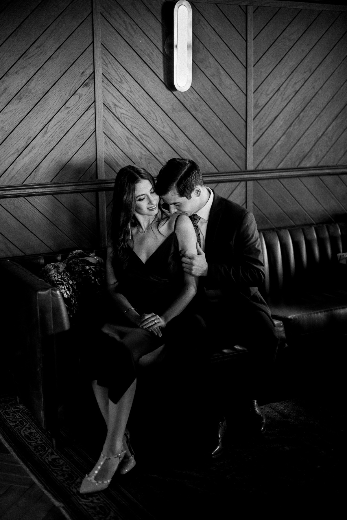 Wish You Were Here: A Chic Engagement Shoot In Denver, Colorado