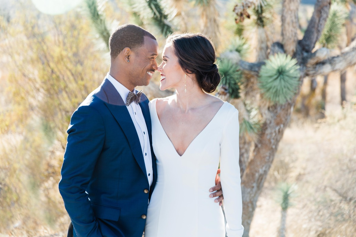 Upscale Wild-Hearted Microwedding in the Las Vegas Desert