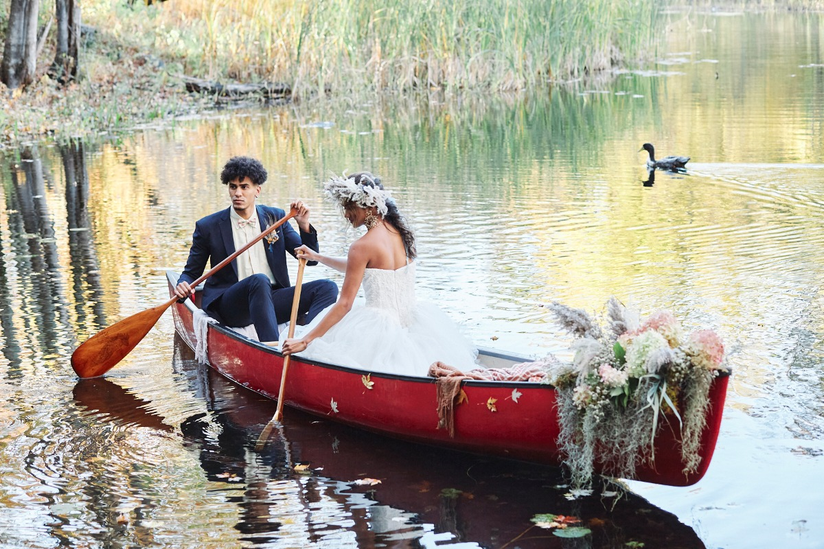 A Sustainable Wedding? It Can Be Done...And It Looks Amazing!