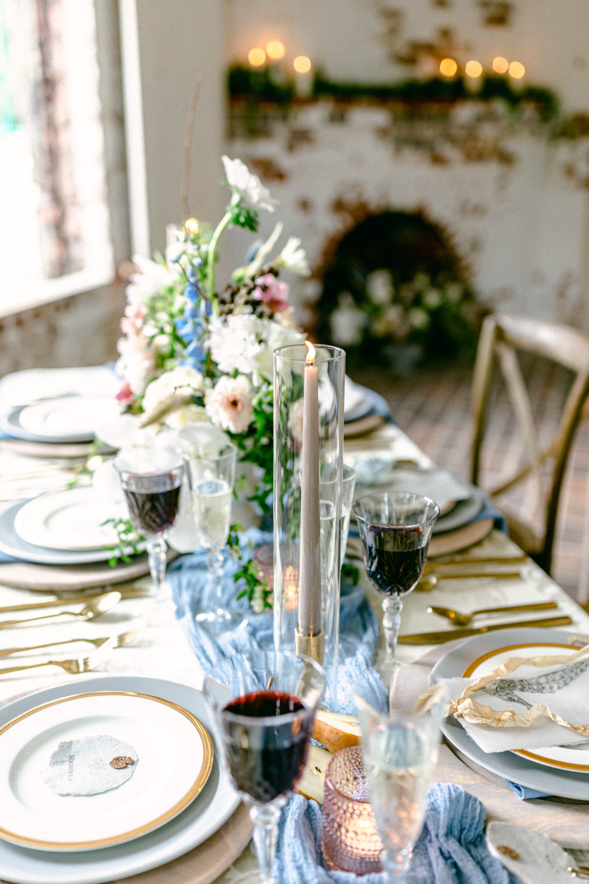 How To Put A Heavenly Yet Modern Twist On Your Castle Wedding
