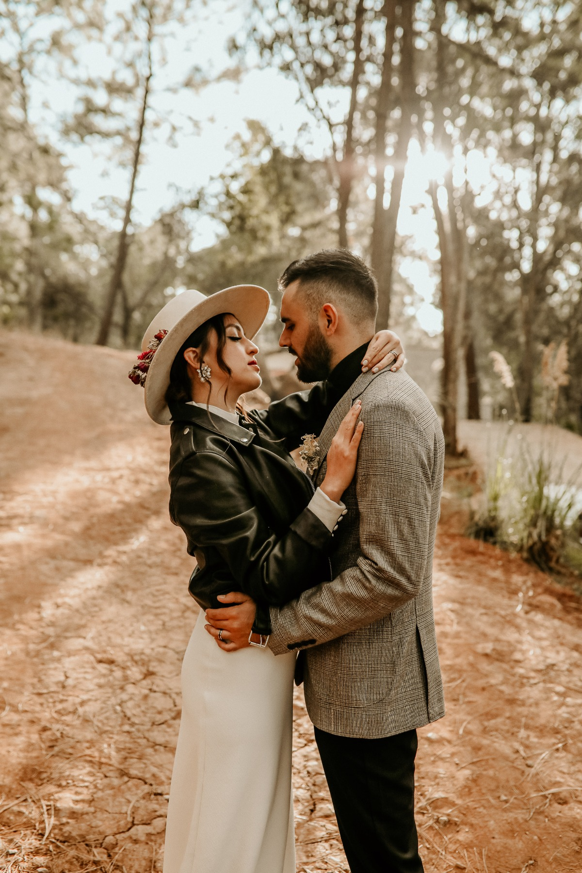 Disco Nights On The Prairie–A Fashion-forward Elopement That Is So Now