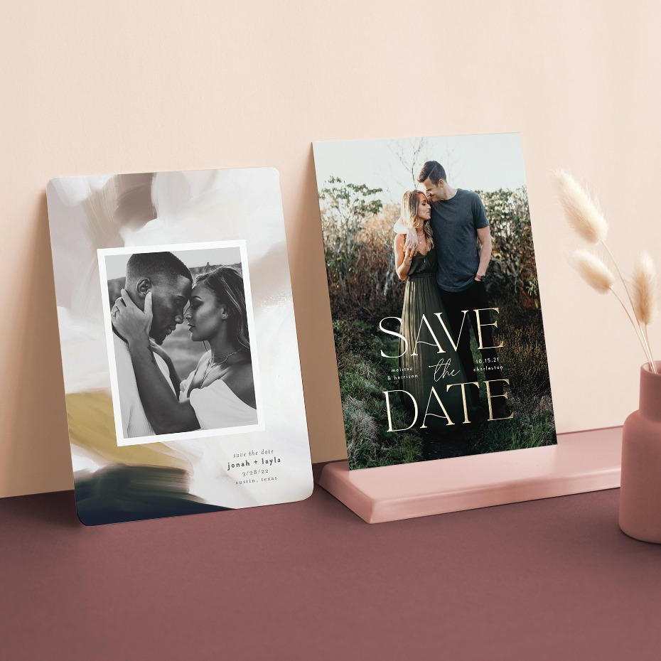 Sending Out a Save the Date Is a Big Deal Any Day, But Nowadays It's a BFD