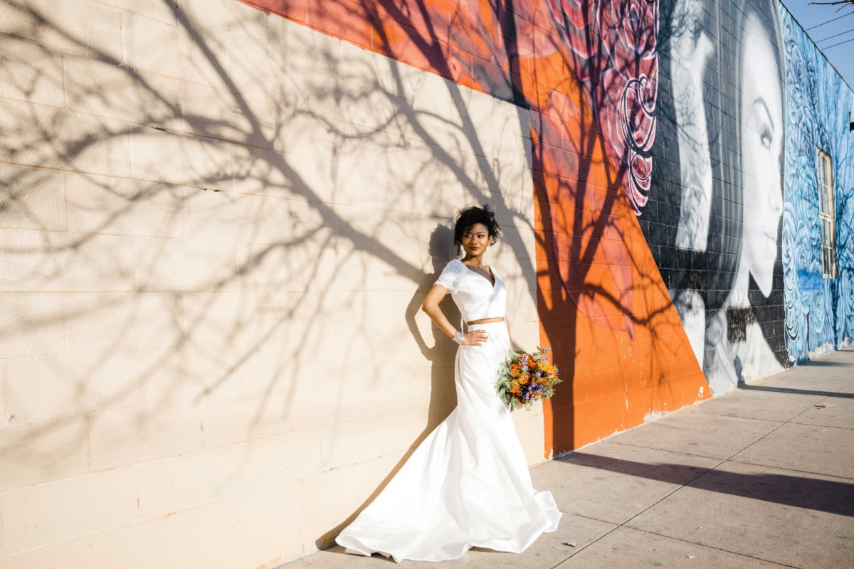 A Vibrant Elopement In The Heart Of Denver's Arts District