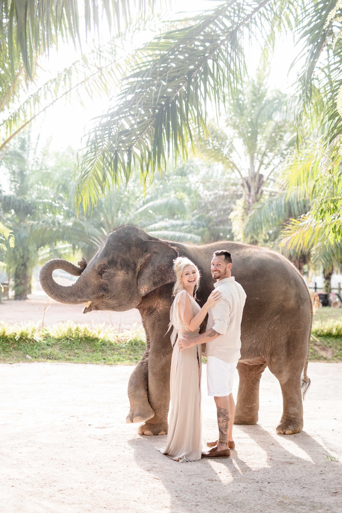 You Know Your Wedding Is Epic When One Of Your Guests Is An Elephant (Literally!)