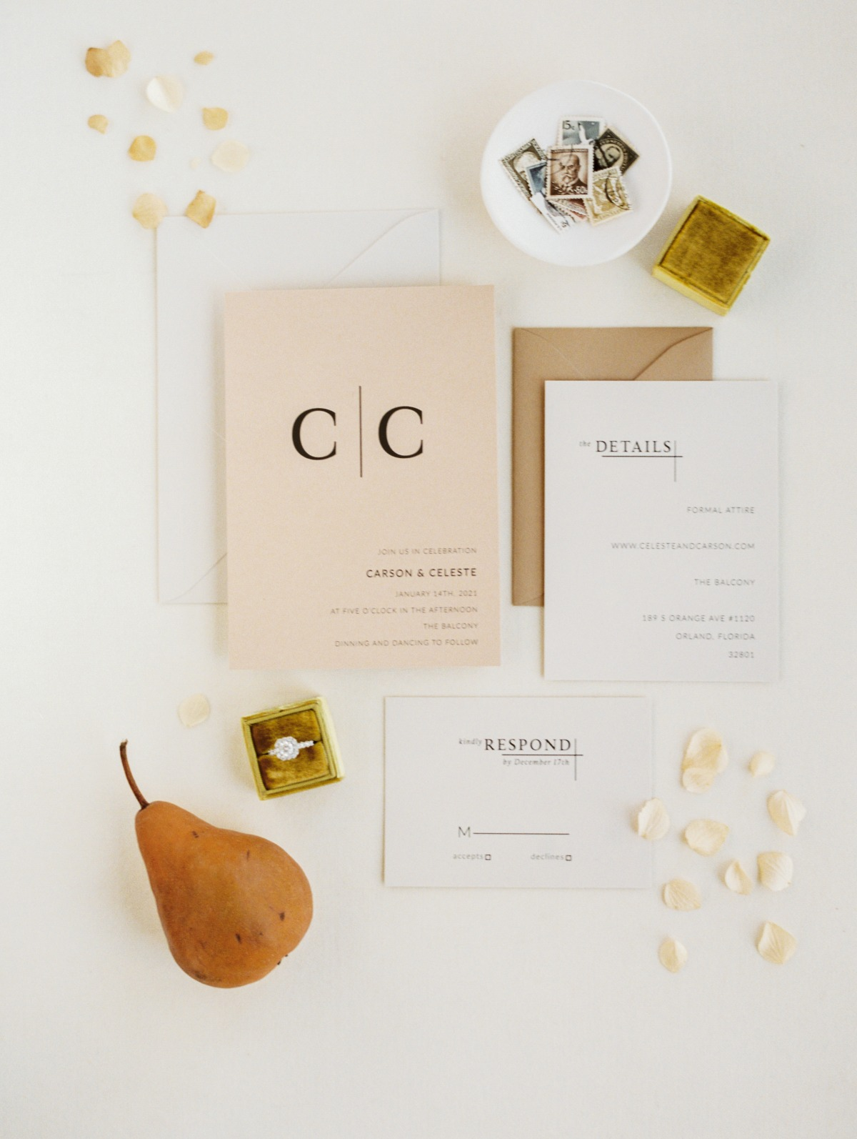 Three Words, Eight Letters: A City Inspired Elopement Shoot