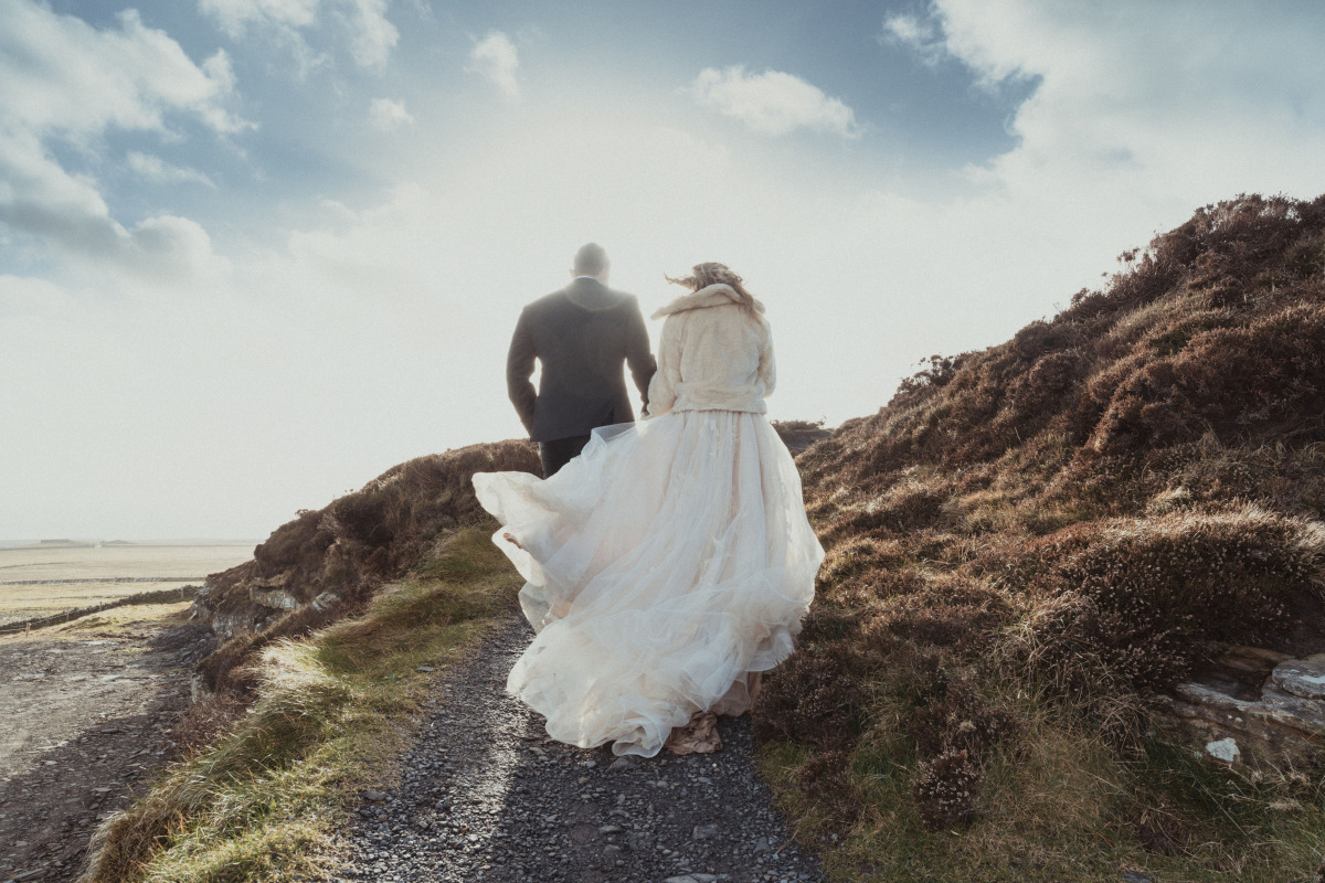 A Breathtaking Cliffside Wedding...We Couldn't Have Asked For