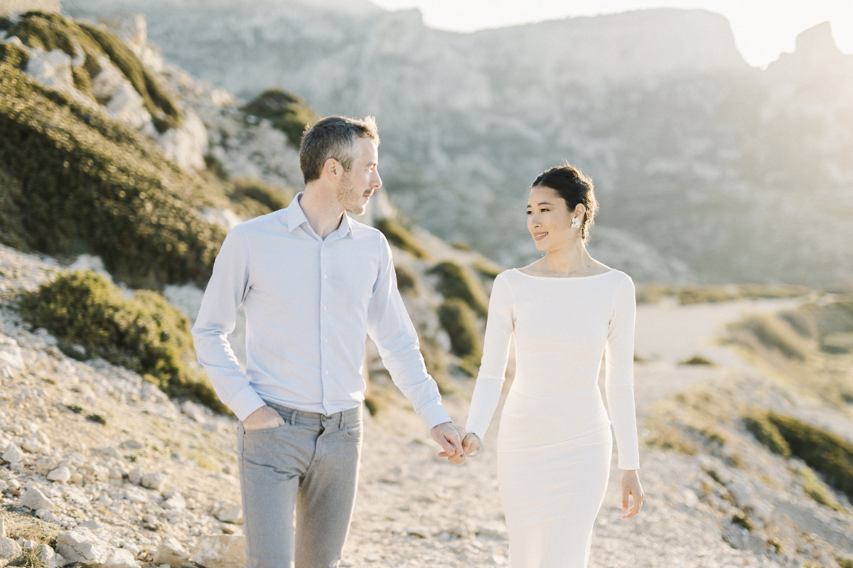 Engagement session in the French Creeks