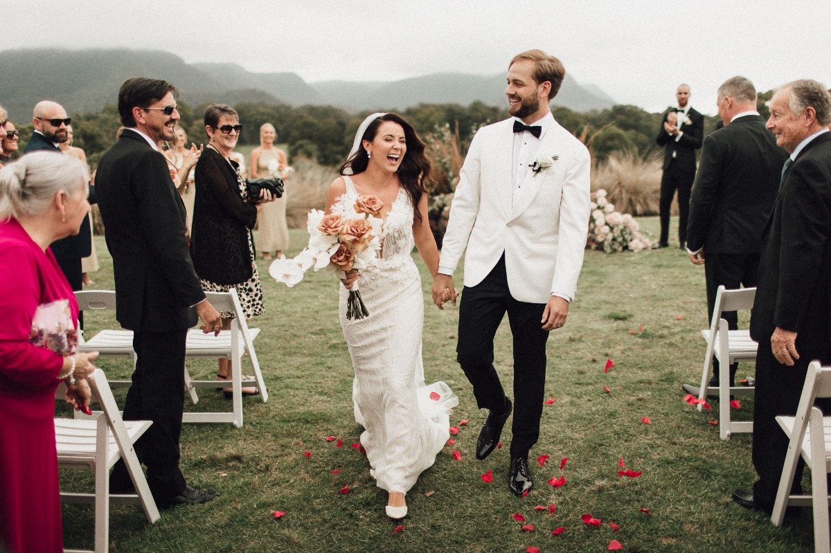Mountain-top Wedding With A View To Live For