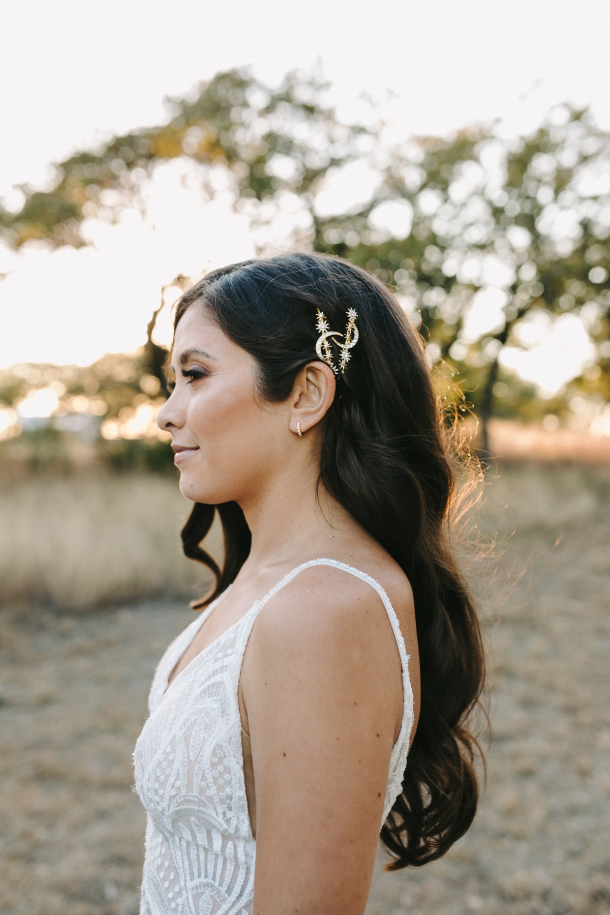 An Outdoor Wedding So Pretty, These Ceremony Photos Frame Themselves