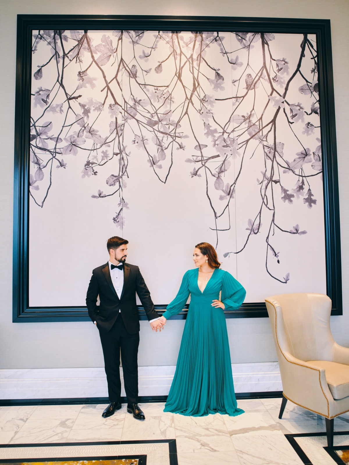 Post Oak Hotel at Uptown Houston Engagement Session Feature