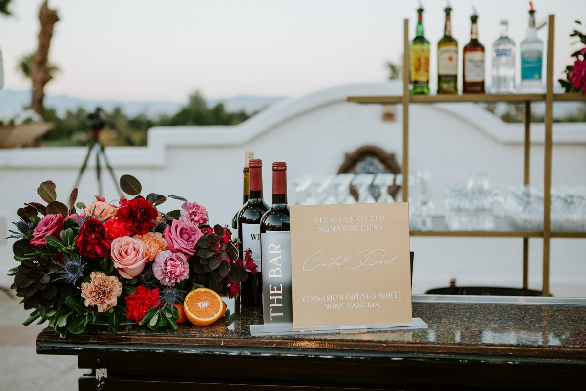 This Rooftop Wedding In Palm Springs Is Sure To Brighten Your Day