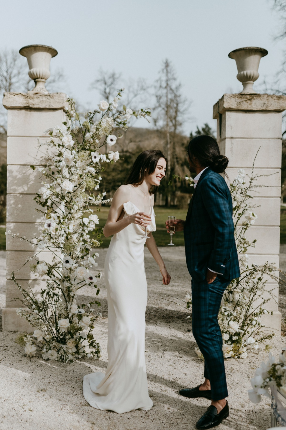Minimalist Inspiration Shoot At A French Château That Makes Elegance Look Effortless