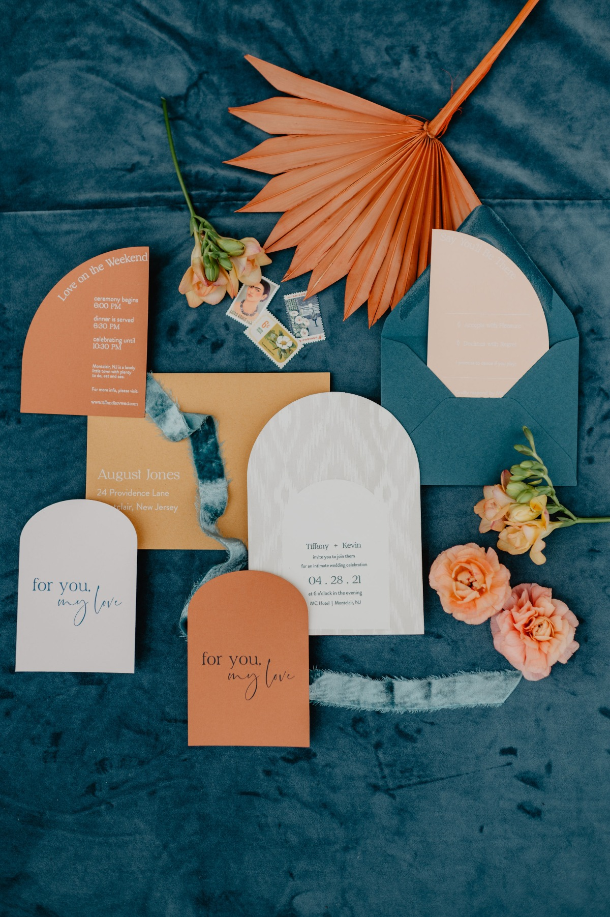 Fun and Colorful Rooftop Micro Wedding at a Modern Boutique Hotel with NYC views