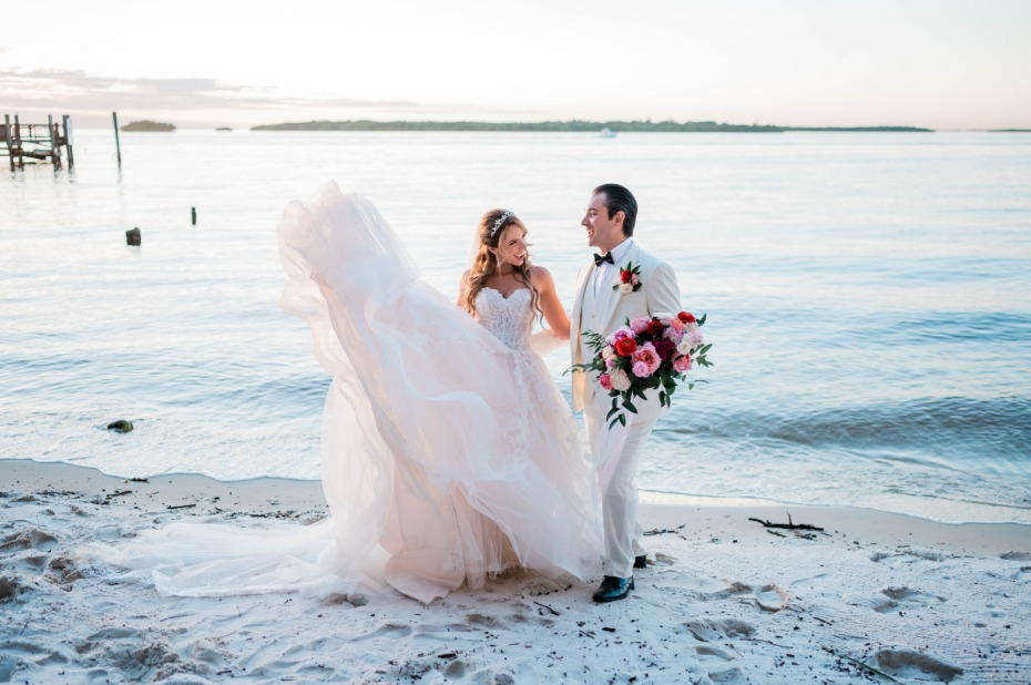 There's No Better Place Than the Beach To Get Married Outdoors
