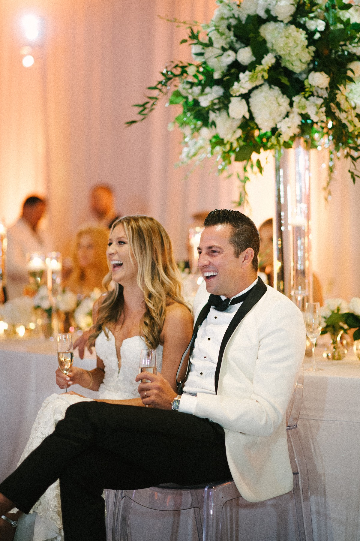 Don't Wear White To A Wedding–This Couple Would Disagree