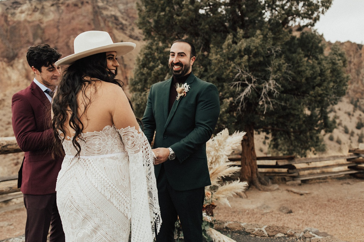 An Outdoor Ceremony in Oregon With A Jaw-Dropping View