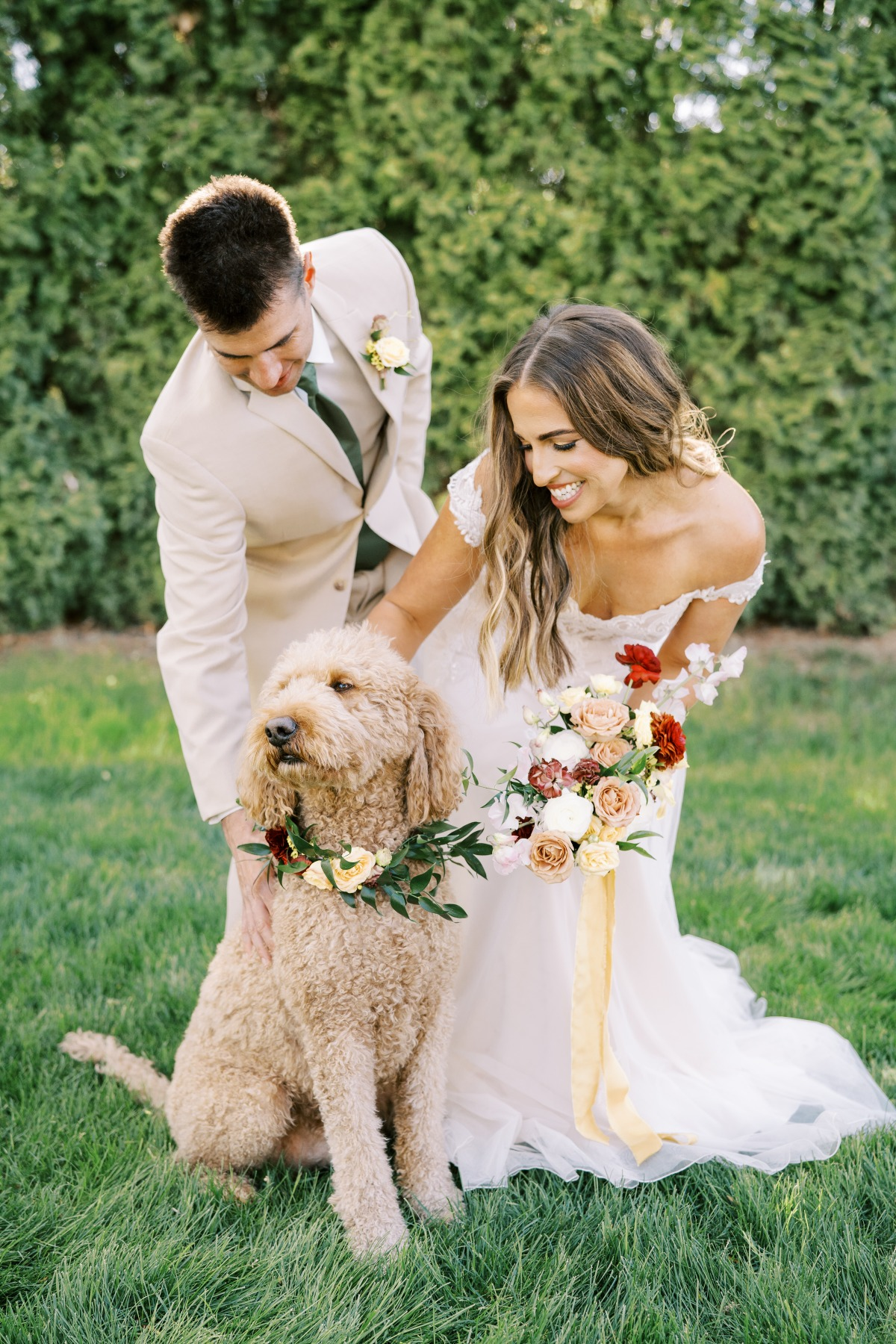 A Fall Rustic Vow Renewal With Mid Century Decor