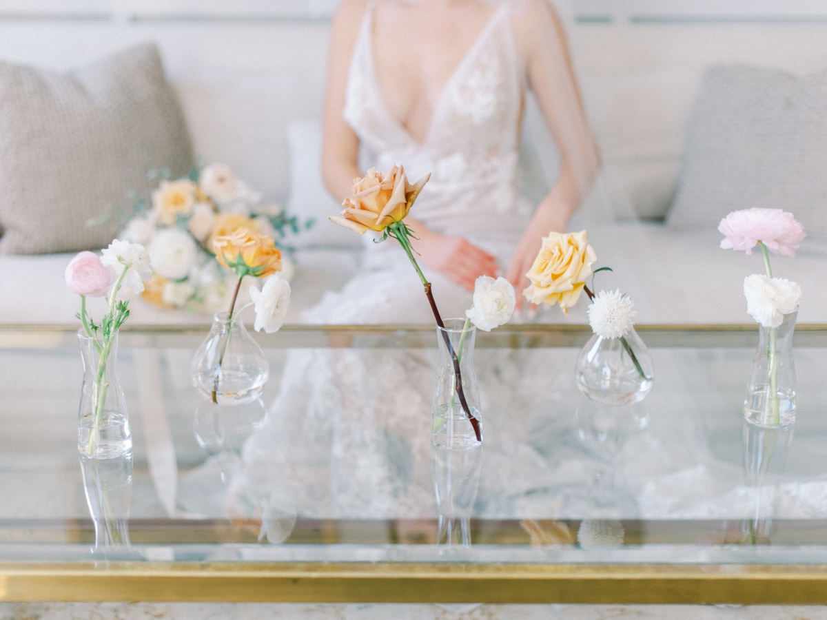 What Do You Get When You Combine The Current Wedding Trends Into One Design?